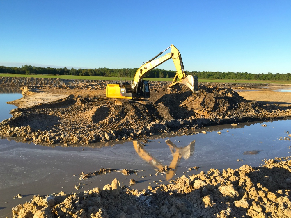 land clearing, sustainable agriculture, site development, sod installation | Grovin Farms, Florida.
