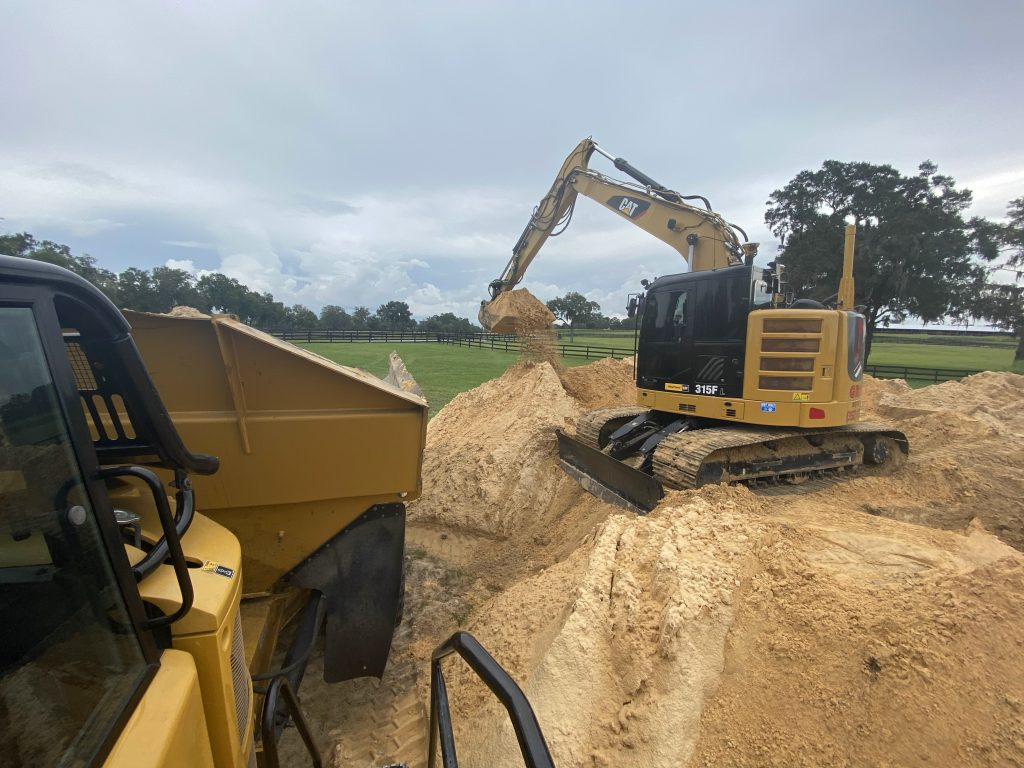 Grovin Farms land development, excavation services, and land clearing | Gainesville, FL