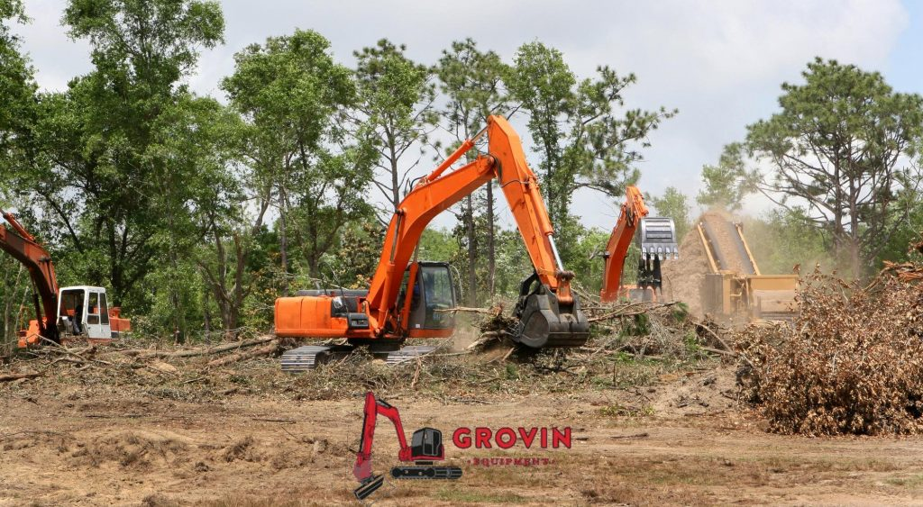 Top five methods of land clearing